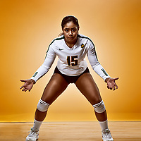 Sierra Parris-Kruger, Libero for the Regina Cougars Women's Volleyball team