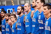 DESCRIZIONE : Trento Nazionale Italia Uomini Trentino Basket Cup Italia Belgio Italy Belgium<br /> GIOCATORE : team italia<br /> CATEGORIA : before<br /> SQUADRA : Italia Italy<br /> EVENTO : Trentino Basket Cup<br /> GARA : Italia Belgio Italy Belgium<br /> DATA : 12/07/2014<br /> SPORT : Pallacanestro<br /> AUTORE : Agenzia Ciamillo-Castoria/R.Morgano<br /> Galleria : FIP Nazionali 2014<br /> Fotonotizia : Trento Nazionale Italia Uomini Trentino Basket Cup Italia Belgio Italy Belgium