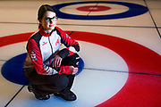 "Taarnby, Denmark (03.09.16) – Seventeen-year-old Mary Fay of Chester, Nova Scotia has had an amazing year. As skip for the Canadian mixed doubles curling team at the Youth Olympics in Lillehammer, Norway, she won gold and followed it up last weekend by winning the VoIP Defender World Junior Curling Championships. ""It feels amazing to have won this with my best friends,"" she said of the world championship win. ""It's surreal and hasn't sunk in yet."" Fay was also awarded the competition's female sportsmanship award, an honour which is peer-voted. Photo by Marissa Tiel"