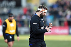 Will Stuart of Bath Rugby during the pre-match warm-up - Mandatory byline: Patrick Khachfe/JMP - 07966 386802 - 18/01/2020 - RUGBY UNION - Kingspan Stadium - Belfast, Northern Ireland - Ulster Rugby v Bath Rugby - Heineken Champions Cup