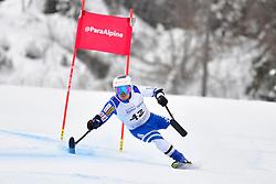 Super Combined and Super G, MISAWA Hiraku, LW2, JPN at the WPAS_2019 Alpine Skiing World Championships, Kranjska Gora, Slovenia