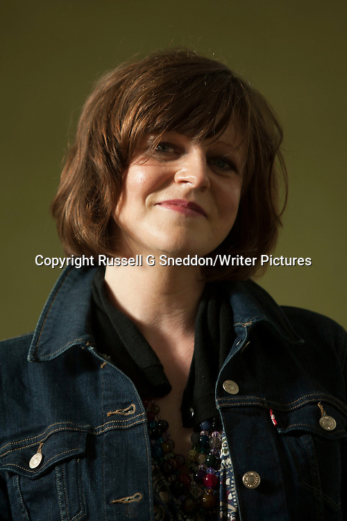 Alyssa Popiel at Edinburgh International Book Festival 2014. <br /> 10th August 2014<br /> <br /> Picture by Russell G Sneddon/Writer Pictures