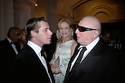 Danniel Brennan,  Suzanna Sabet and Terence Cole , The Royal Academy Schools dinner and auction. Royal Academy. London. 27 March 2007.  -DO NOT ARCHIVE-© Copyright Photograph by Dafydd Jones. 248 Clapham Rd. London SW9 0PZ. Tel 0207 820 0771. www.dafjones.com.