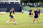 Jos Buttler (WK) during the England training session ahead of the 4th ODI, at Pallekele International Cricket Stadium, Pallekele, Sri Lanka on 19 October 2018.