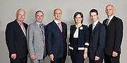 Portrait du comité d'administration, lors du rapport annuel du groupe Garda, Club Saint-James, Québec, Canada, 2008, 06, 11, © Photo Marc Gibert / adecom.ca