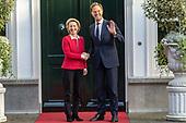 Premier Rutte ontvangt aankomend voorzitter van de Europese Commissie Von der Leyen