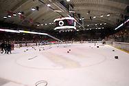 24.4.2013, Isometsän jäähalli, Pori..Jääkiekon SM-liiga 2012-13. Playoffsit, 6. loppuottelu, Ässät - Tappara.Ässät juhlii mestaruutta, mailat, hanskat ja rantapallot jäällä.
