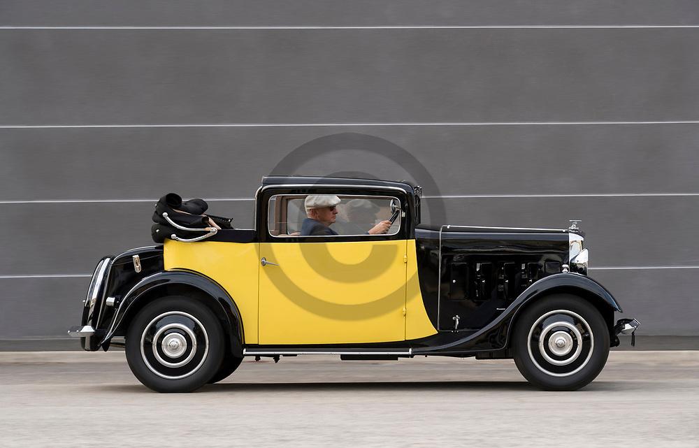 23/11/17 - SAINT FERREOL D AUROURE - HAUTE LOIRE - FRANCE - Essais SALMSON S4C de 1932 - Photo Jerome CHABANNE