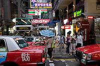 D'Aguilar and Wellington crossing, Central, Hong Kong.