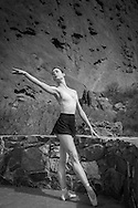 Charlotte Lanning of The Colorado Ballet photographed The Garden of the Gods. Colorado Speings, Colorado.