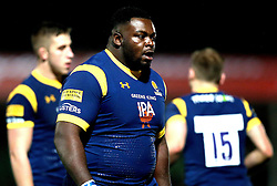 Biyi Alo of Worcester Warriors - Mandatory by-line: Robbie Stephenson/JMP - 04/11/2016 - RUGBY - Sixways Stadium - Worcester, England - Worcester Warriors v Bristol Rugby - Anglo Welsh Cup