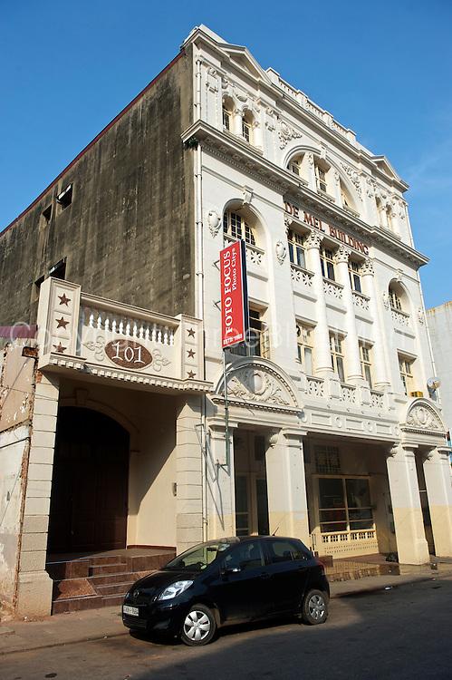 De Mel Building. Colombo Fort. Sri Lanka.
