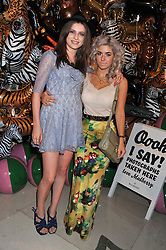 Left to right, TALI LENNOX and MARINA DIAMANDIS at the Mulberry Spring/Summer 2012 - London Fashion Week afterparty held at Claridge's, Brook Street, London on 18th September 2011.