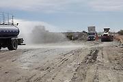Tanhacu_BA, Brasil.<br /> <br /> Construcao da Ferrovia de Integracao Oeste Leste-FIOL em Tanhacu, Bahia.<br /> <br /> Works of Ferrovia de Integracao Oeste Leste (East-West Integrational Rail Road) in  Tanhacu, Bahia.<br /> <br /> Foto:  EMMANUEL PINHEIRO / NITRO