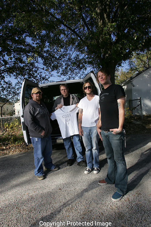Two Cow Garage just before their fall 2008 tour.