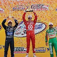 2010 INDYCAR RACING KANSAS