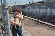 A day in the life with a Sacramento County Animal Control Officer. Hugging a puppy before heading home.