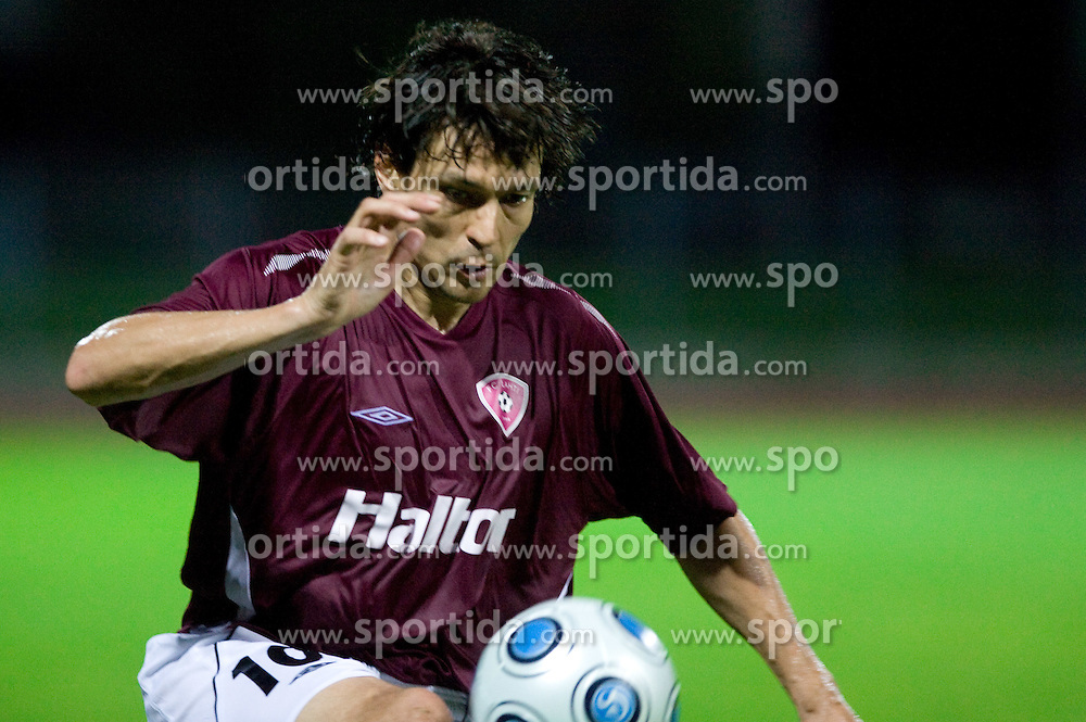 Jari Litmanen of Lahti at 1st football match of 2nd preliminary Round of UEFA Europe League between ND Gorica and FC Lahti, on July 16 2009, in Nova Gorica, Slovenia. (Photo by Vid Ponikvar / Sportida)