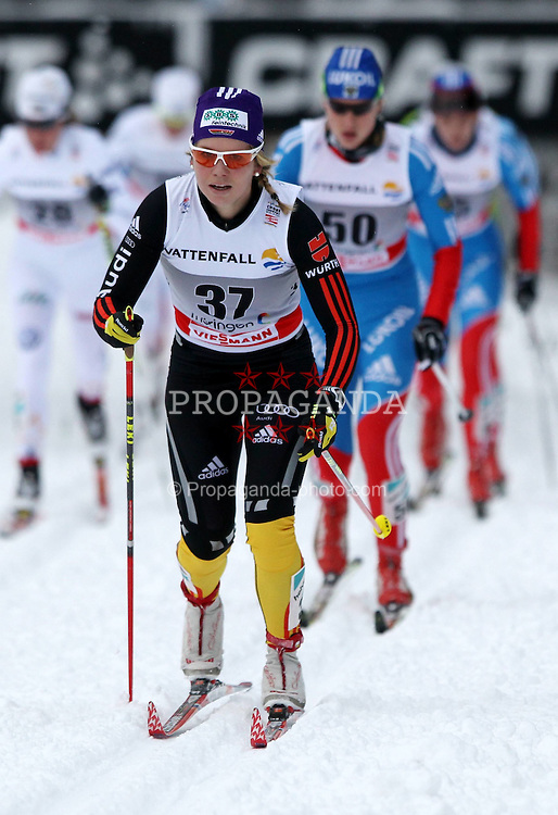 31.12.2011, DKB-Ski-ARENA, Oberhof, GER, Viessmann Tour de Ski 2011, FIS Langlauf Weltcup, Verfolgung Damen, im Bild Sandra Ringwald (GER) vor Natalia Matveeva (RUS) // during pursuit Women of Viessmann Tour de Ski 2011 FIS World Cup Cross Country at DKB-SKI-Arena Oberhof, Germany on 2011/12/31. EXPA Pictures © 2011, PhotoCredit: EXPA/ nph/ Hessland..***** ATTENTION - OUT OF GER, CRO *****