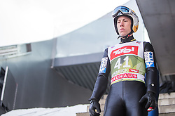 03.01.2015, Bergisel Schanze, Innsbruck, AUT, FIS Ski Sprung Weltcup, 63. Vierschanzentournee, Innsbruck, vor dem Trainingssprung, im Bild Thomas Diethart (AUT) //Thomas Diethard of Austria  preparing for the Training Jump for the 63rd Four Hills Tournament of FIS Ski Jumping World Cup at the Bergisel Schanze in Innsbruck, Austria on 2015/01/03. EXPA Pictures © 2015, PhotoCredit: EXPA/ JFK