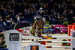 BORMANN Finja (GER), A crazy son of Lavina<br /> Preis der WIRmachenDRUCK GmbH<br /> Int. jumping competition against the clock (1.50 m) - CSI3* Grosse Tour<br /> Braunschweig - Classico 2020<br /> 06.03.20<br /> © www.sportfotos-lafrentz.de/Stefan Lafrentz