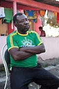 Domingo Firmiano dos Santos, 52 anos, também conhecido por Chapoca. Denuncia há mais de trinta anos a violência da Empresa Fibria contra as comunidades quilombolas <br /> do Sapê do Norte.