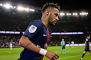 PSG Neymar during the French championship L1 football match between Paris Saint-Germain (PSG) and Caen on August 12th, 2018 at Parc des Princes, Paris, France - Photo Geoffroy Van der Hasselt / ProSportsImages / DPPI