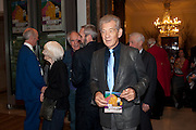 SIR IAN MCKELLEN, Opening of David Hockney ' A Bigger Picture' Royal Academy. Piccadilly. London. 17 January 2012