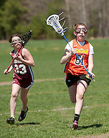 Lakes Region Lacrosse U15 girls versus Concord May 1, 2011.