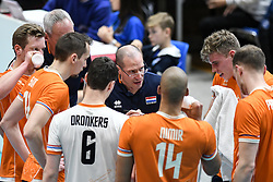 02-01-2020 SLO: Slovenia - Netherlands, Maribor<br /> Roberto Piazza, head coach of Netherland during friendly volleyball match between National Men teams of Slovenia and Netherlands