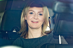 © Licensed to London News Pictures. 01/05/2019. London, UK. Liz Truss, Chief Secretary to the Treasury, arrives at Parliament for Prime Minister's Questions. Photo credit: Peter Macdiarmid/LNP