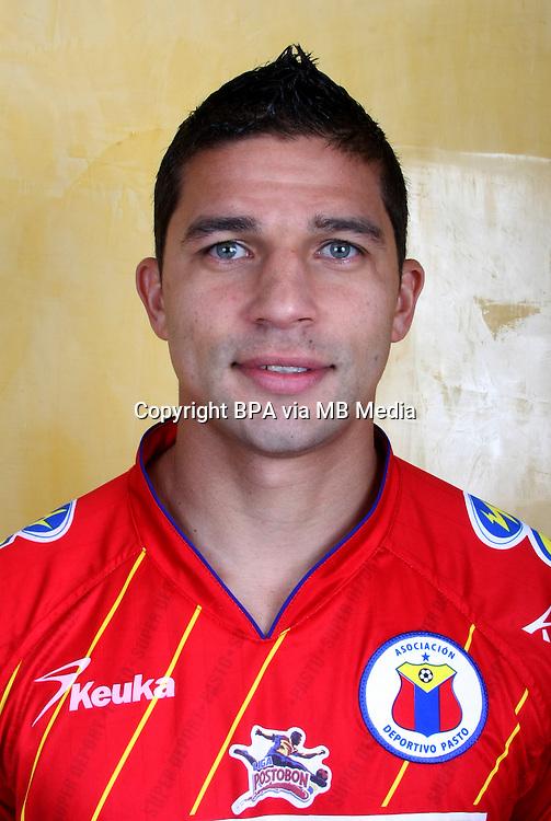 Colombia League - Postobom Liga 2014-2015 -<br /> Asociacion Deportivo Pasto - Colombia / <br /> Juan Guillermo Velez