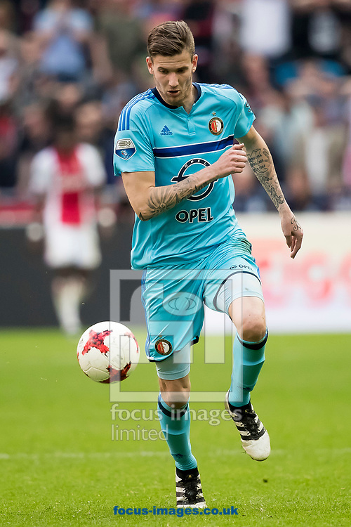 Michiel Kramer of Feyenoord during the Dutch Eredivisie match at Amsterdam Arena, Amsterdam<br /> Picture by Joep Joseph Leenen/Focus Images Ltd +316 5261929<br /> 02/04/2017<br /> ***NETHERLANDS OUT***
