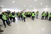 Visite du Chantier - 23.03.2015 - Visite du Stade de Bordeaux -<br /> Photo : Caroline Blumberg / Icon Sport *** Local Caption ***