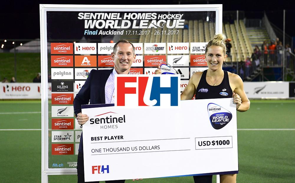 AUCKLAND - Sentinel Hockey World League final women<br /> Match id:10322<br /> 22 NED v NZL (Final)<br /> Foto: <br /> <br /> WORLDSPORTPICS COPYRIGHT FRANK UIJLENBROEK