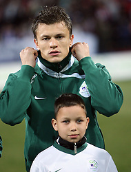 Zlatko Dedic of Slovenia at the 8th day qualification game of 2010 FIFA WORLD CUP SOUTH AFRICA in Group 3 between Slovenia and Czech Republic at Stadion Ljudski vrt, on March 28, 2008, in Maribor, Slovenia. Slovenia vs Czech Republic 0 : 0. (Photo by Vid Ponikvar / Sportida)