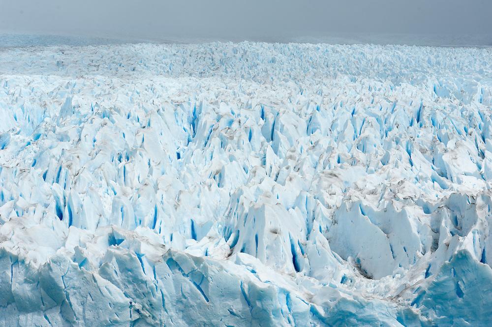 Glacier Between Mountains, Perito Moreno Glacier<br /> Los Glaciares National Park Argentina
