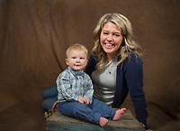 Grayson - one year old photo shoot.  ©2019 Karen Bobotas Photographer