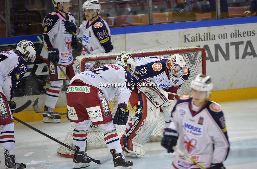 Mestis-kierroksella keskiviikkona 19.11.2014 pelattiin ottelu Kiekko-Vantaan ja SaPKon välillä joka päättyi vantaalaisten 2-1 voittoon.