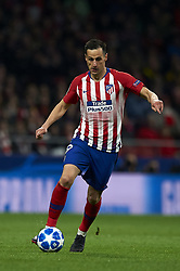 November 6, 2018 - Madrid, Spain - Nikola Kalinic of Atletico Madrid during the Group A match of the UEFA Champions League between Atletico de Madrid and Borussia Dortmund at Wanda Metropolitano Stadium, Madrid on November 06 of 2018. (Credit Image: © Jose Breton/NurPhoto via ZUMA Press)