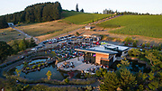 Safffron Fields Vineyard 4th of July fireworks show, Yamhill-Carlton AVA, Willamette Valley, Oregon