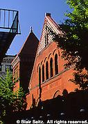Lancaster, PA street scape, historic Central Market