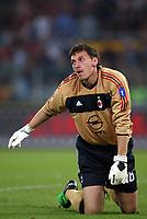 Roma 20 Maggio 2003 - Rome May 20 2003 <br />Andata finale di Coppa Italia - First Match final Italy's Cup <br />Roma Milan 1-4 <br /><br />Cristian Abbiati (Milan)
