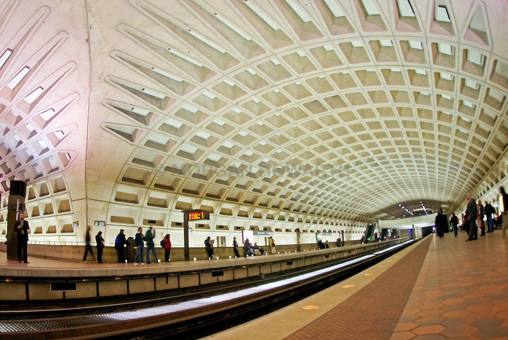 Washington DC metro train tunnel VA1_803_266