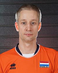 07-10-2017 NED: Portret zitvolleybalteam Oranje mannen 2017-2018, Doorn<br /> Nederland bereidt zich voor op het komende EK zitvolleybal / Robert-Paul Buitendijk