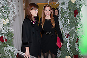 PRINCESS EUGENIE; PRINCESS BEATRICE; English National Ballet launches its Christmas season with a partyu before s performance of The Nutcracker at the Coliseum.  St. Martin's Lane Hotel.  London. 16 December 2009 *** Local Caption *** -DO NOT ARCHIVE-© Copyright Photograph by Dafydd Jones. 248 Clapham Rd. London SW9 0PZ. Tel 0207 820 0771. www.dafjones.com.<br /> PRINCESS EUGENIE; PRINCESS BEATRICE; English National Ballet launches its Christmas season with a partyu before s performance of The Nutcracker at the Coliseum.  St. Martin's Lane Hotel.  London. 16 December 2009