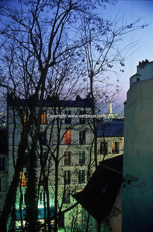 = montmartre  Paris  France    +