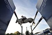 Paris, France : Jennifer Gates riding Luftikus S during the Longines Paris Eiffel Jumping 2018, on July 5th to 7th, 2018 at the Champ de Mars in Paris, France - Photo Christophe Bricot / ProSportsImages / DPPI