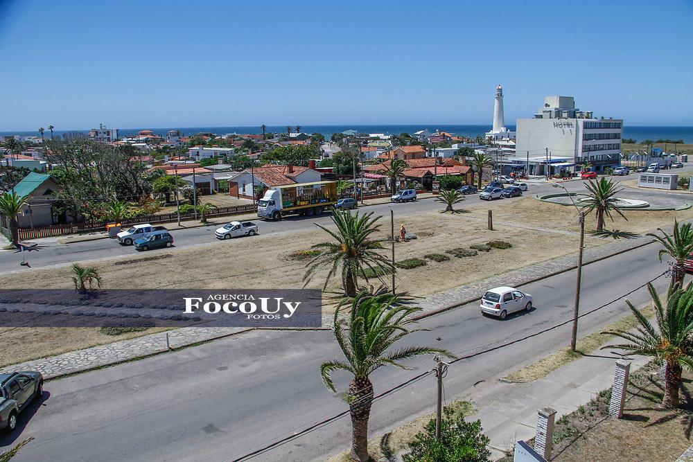 Rocha,  Uruguay. 11 de Enero de 2018.  <br /> Balneario La Paloma. Ciudad.<br /> Foto: Gast&oacute;n Britos / FocoUy