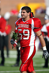 27 October 2007:  Bill Hronec. The Western Illinois Leathernecks beat up on the Illinois State Redbirds  27-14 at Hancock Stadium on the campus of Illinois State University in Normal Illinois.